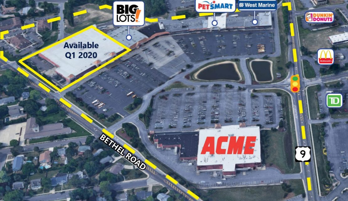 Rare Big Box Vacancy Coming in Southern New Jersey