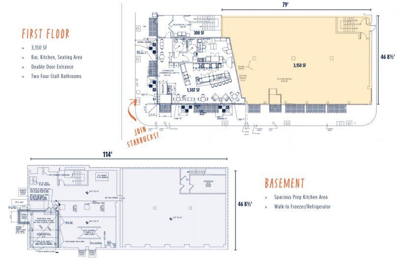 Former Percy's BBQ Floor Plan